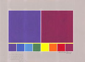 Waldo Balart: Structur of Light: Violet and Magenta