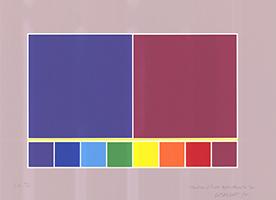 Waldo Balart: Struture of Light: Violet+Magenta