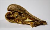 Ernst Fuchs: Schutzengel - gold