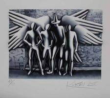 Mark Kostabi: Spirits of New York