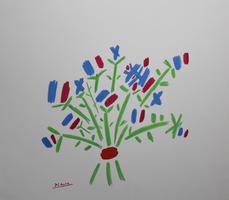 Pablo Picasso: Blumenstrauß