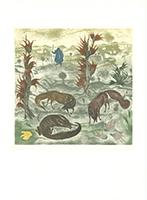 Arik Brauer: Die kleinen Füchse