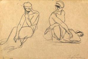 Richard Engelmann: Sitzende