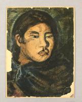 Cecilio Guzmann de Rojas: Frauenportrait