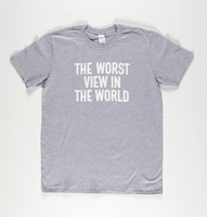 Banksy: The Worst View In The World  (Dismaland Bemusement Park Collectible, grey)