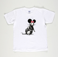 Banksy: Dismaland Bemusement Park Rat Collectible (white)