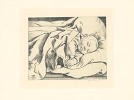 Hans Thoma: Baby