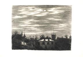 Hans Meid: Steglitzer Mondnacht