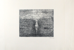 Paul Eliasberg: Mondschein über dem Meer