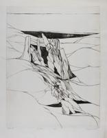 Wolff Buchholz: Figuren in weiter Landschaft