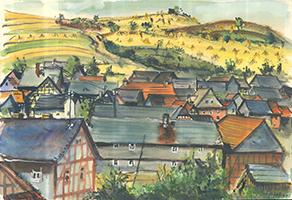 Friedrich Einhoff: Landschaft