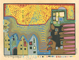 Friedensreich Hundertwasser: Flooded sleep