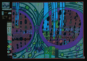 Friedensreich Hundertwasser: Regen auf Regentag