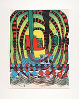 Friedensreich Hundertwasser: Seereise II - Reise zur See und mit der Bahn