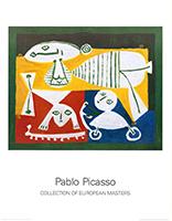 Pablo Picasso: Mére et enfants jouant