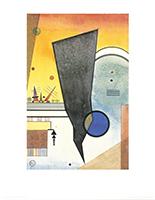 Wassily Kandinsky: Gebogene Spitze