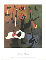 Joan Miró: Personnages Rythmiques