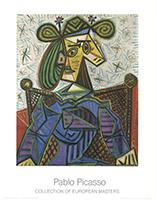 Pablo Picasso: Femme Assise Dans Un Fauteuil