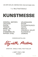 Carl Frederik Reuterswärd: Multinationale Kunstmesse
