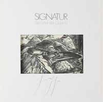 Günter Grass: Signatur 14