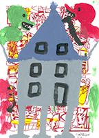 Volkmar Schulz-Rumpold: Haus im Gestrüpp