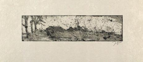 Horst Janssen: Kleine Landschaft