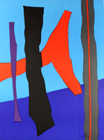 Fritz Winter: Komposition