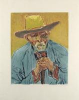 Jacques Villon: Le Paysan (Van Gogh)