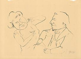 George Grosz: Schäferstunde