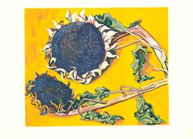 Renato Guttuso: Girasoli dopo la fioritura