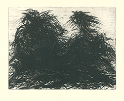 Max Uhlig: Elbbäume am Fluss