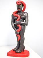 Elvira Bach: Frau mit Schlange