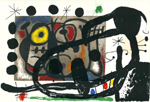 Joan Miró: Komposition
