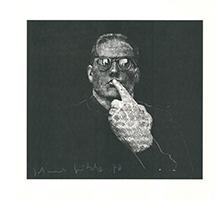 Johannes Grützke: Portrait