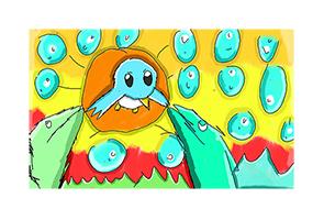 Philipp Koger: Augstin der schnelle kleine blaue Vogel und seine Wasserdrachenhaften Kameraden