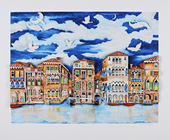 Linnea Pergola: Venice-Moonlight