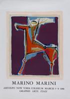 Marino Marini: Arciere viola