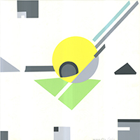 Marcelle Delphine Cahn: Geometrische Komposition