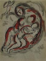 Marc Chagall: Hagar in der Wüste