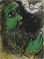 Marc Chagall: Der betende Hiob