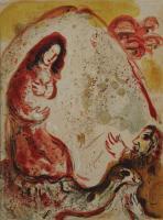 Marc Chagall: Rahel entwendet die Götzenbilder ihres Vaters