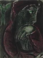 Marc Chagall: Hiob in der Verzweiflung