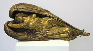 Ernst Fuchs: Schlafender Engel