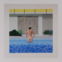 David Hockney: Peter getting out of Nick´s Pool