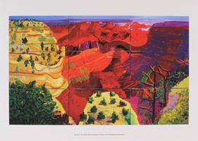 David Hockney: The Grand Canyon