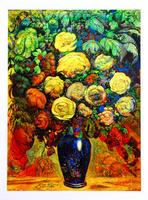 Ernst Fuchs: Blumenvase