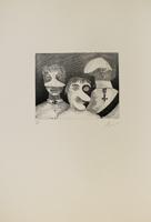 Enrico Baj: Tre persone
