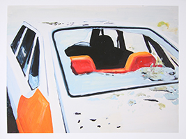 Tim Trantenroth: Car with red Seats