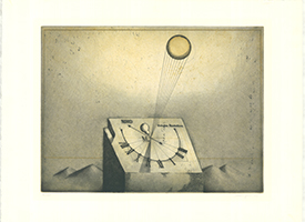 Friedrich Meckseper: Sonnenuhr