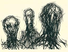 Max Uhlig: Drei Köpfe